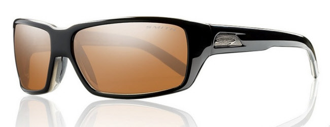 Smith Optics - Backdrop Polarized Sunglasses - Black/Polarchromic Copper Mirror