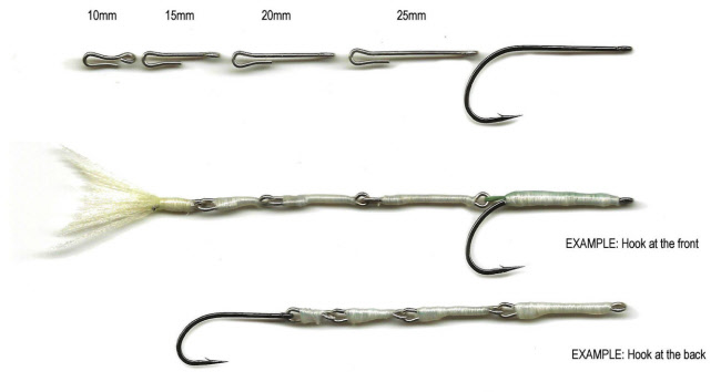 Flymen Fishing Articulated Fish-Spine (Single Size Packs)