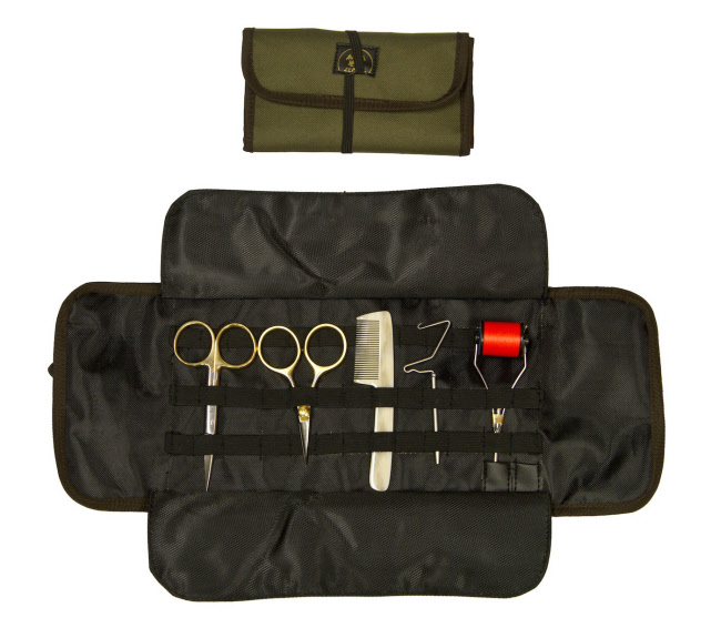 Hareline Dubbin Roll Up Tool Pouch