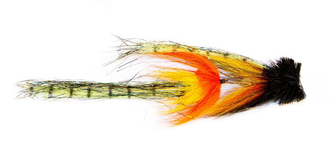 Balloks Northwoods Ninja Fly Fishing Fly Pike Muskie
