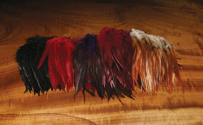 Hareline Saddle Hackle for Wooly Buggers