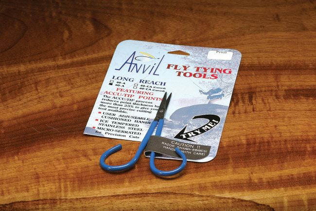 Anvil Fine Point Straight Fly Tying Scissors
