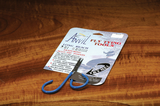 Anvil's Fine Point Offset Handle Fly Tying Scissors