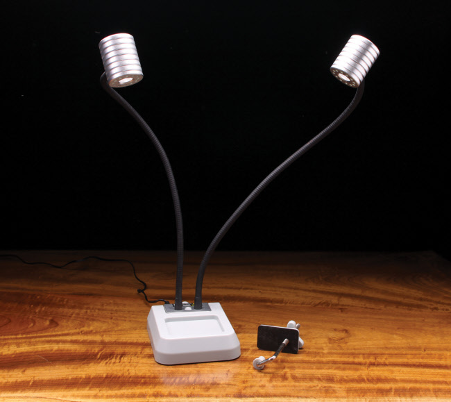 Dual LED Head Pro Light Fly Tying Light