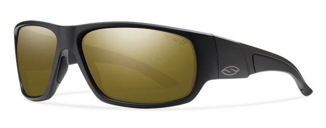 Smith Optics Discord - Matte Black/ChromaPop Polarized Bronze Mirror