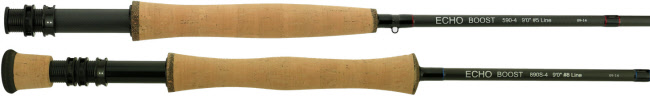 Echo Boost Fly Rods