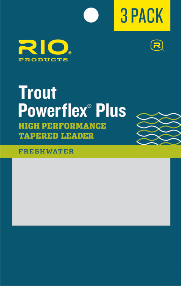 RIO Powerflex Plus Leaders 3 Pack