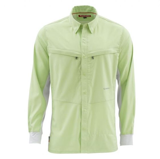 Simms Intruder BiComp LS Shirt Light Green