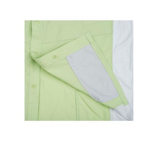 Simms Intruder BiComp LS Shirt Light Green Chamois