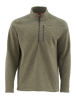 Simms Rivershed Quarter Zip Sweater Loden