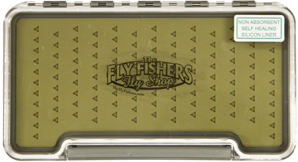 The Fly Fishers Silicone Slim Fly Box Logo