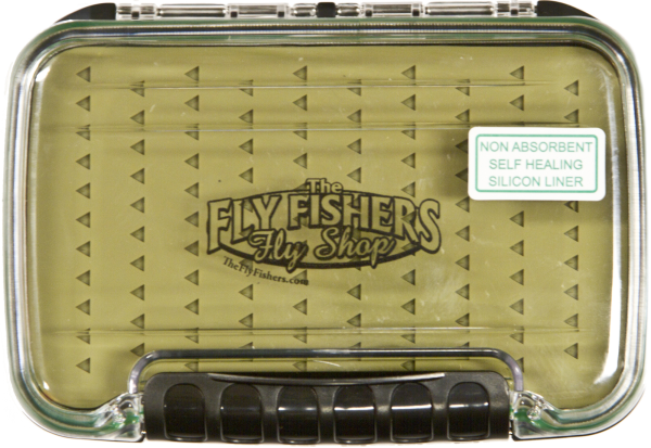 The Fly Fishers Silicone Dual Fly Box Logo