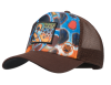 Buff Trucker Cap DeYoung Brown Mosquito