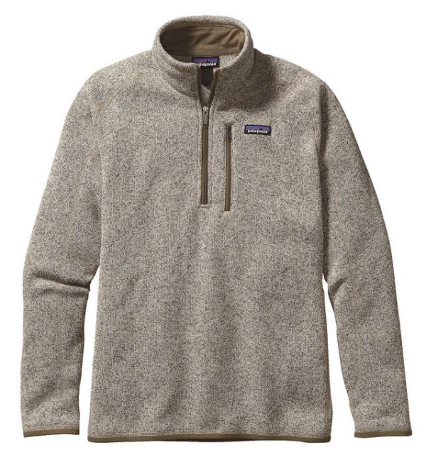 Patagonia Better Sweater 1/4 Zip Fleece Bleached Stone