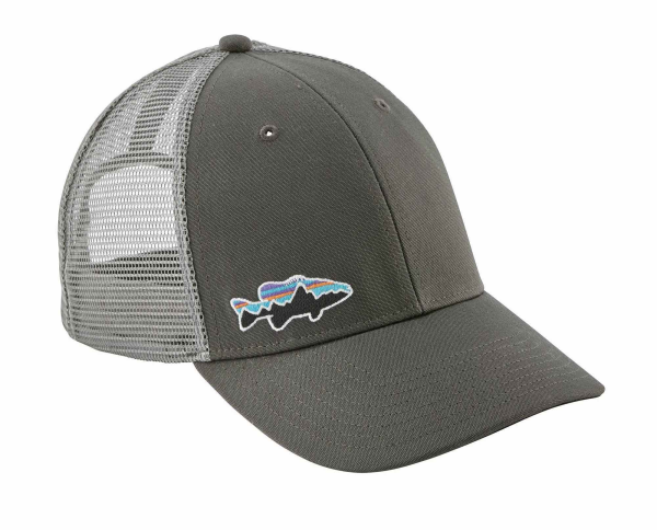 3098229e9d2 Patagonia Fitz Roy Smallmouth LoPro Trucker Hat Forge Grey