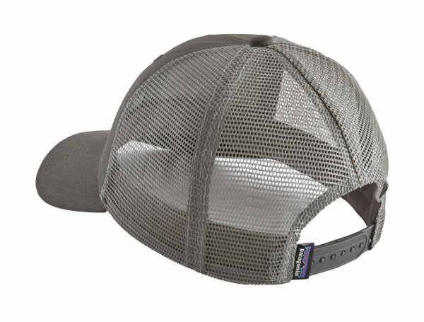 Patagonia Fitz Roy Smallmouth LoPro Trucker Hat Forge Grey Back