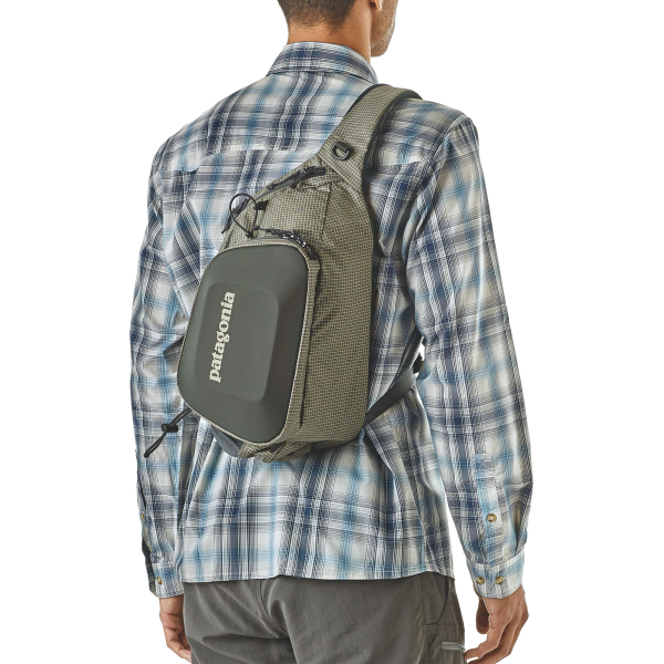 Green Fly Fishing Sling Pack from Patagonia