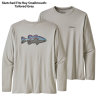 Patagonia LS Capilene Cool Daily Fish Graphic Tee SALE SKTG