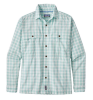 Patagonia Long-Sleeved Island Hopper II Shirt Free Blast Birch White