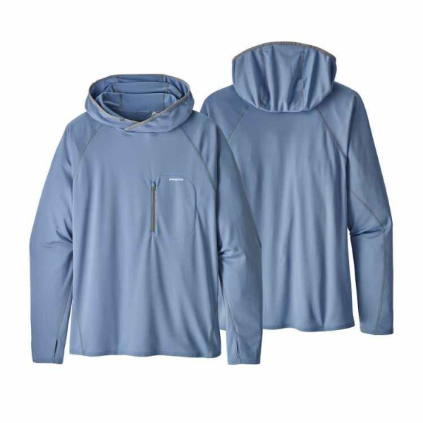 Patagonia Sunshade Technical Hoody Railroad Blue
