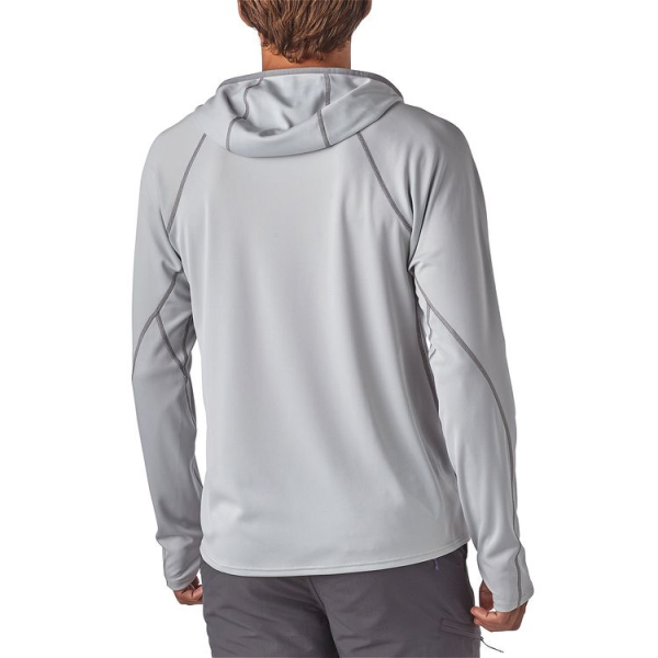Patagonia Sunshade Technical Hoody Tailored Grey Back