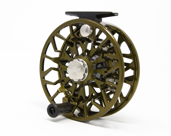 Abel SDS 9/10 Fly Reel Custom Shop Dark Olive Back