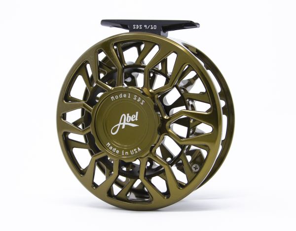 Abel SDS 9/10 Fly Reel Custom Shop Dark Olive
