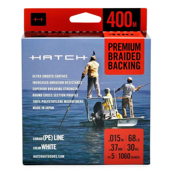 Hatch Premium Braided Backing 400m