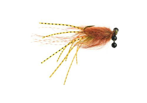 Ball Peen Craw Fly Fishing Streamer Fly Bass Carp