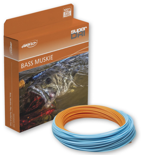 Airflo SuperDri Ehlers Bass Musky Warmwater Fly Fishing Line