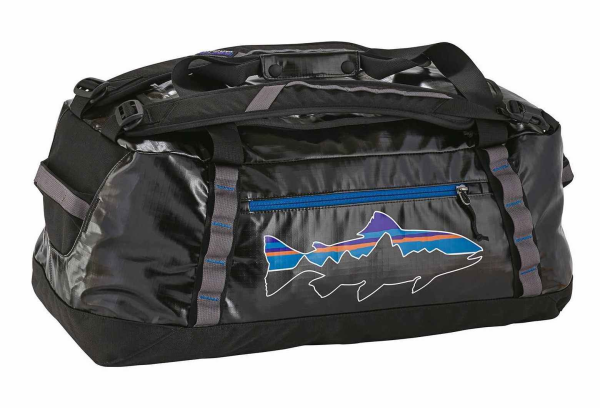 Black Hole Duffel 60L Black Fitz Roy Trout