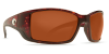 Costa Del Mar Blackfin Polarized Sunglasses Tortoise Copper