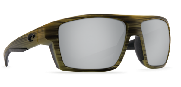 7b78a6ef17 Costa Del Mar Bloke Polarized Sunglasses (Matte Verde Teak + Black Silver  Copper - Glass)