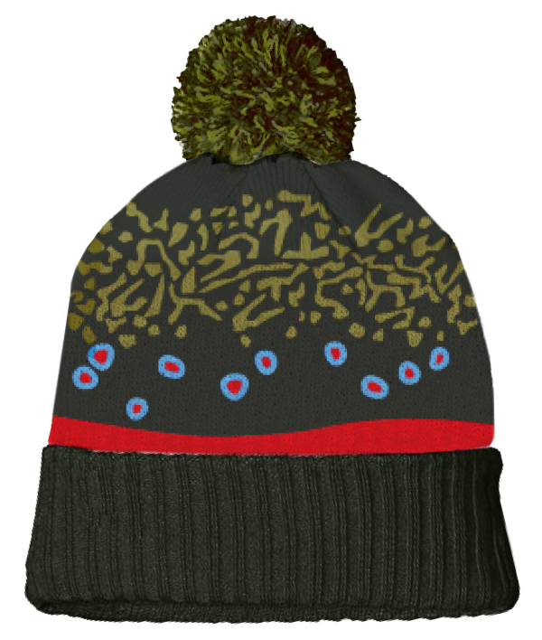Rep Your Water Hat - Brook Trout Skin Knit