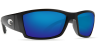 Costa Del Mar Corbina Polarized Sunglasses Matte Black Blue Mirror Poly