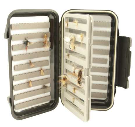 FG1209 The Fly Fishers Waterproof Go To Small Slot Fly Box
