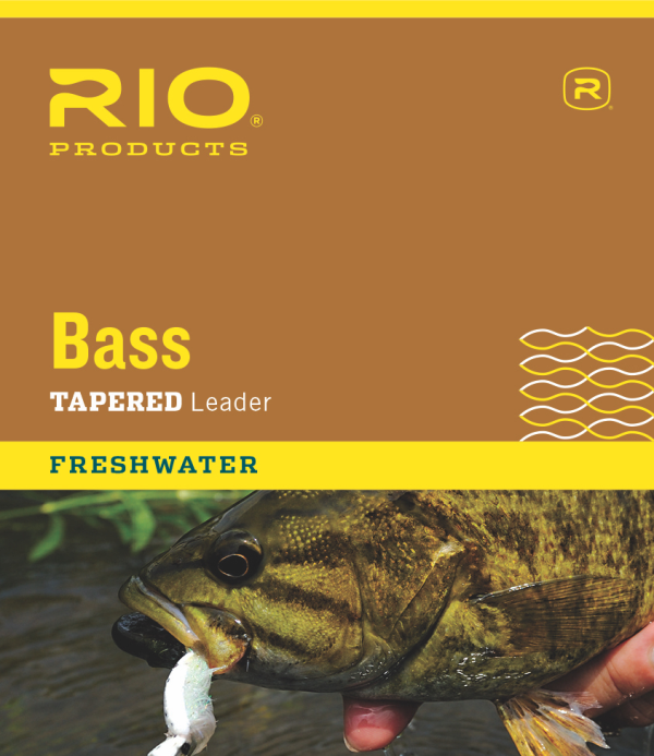 RIO 9 Bass Fly Fishing Leader 3 Pack