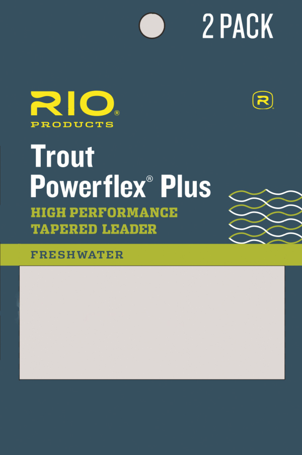 RIO Powerflex Plus Leaders - 2 Pack