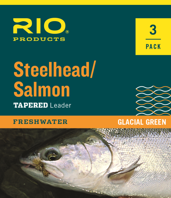 RIO 9 Steelhead/Salmon Knotless Fly Leader 3 Pack