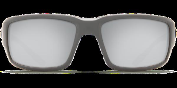 6a419497c75 Costa Del Mar Fantail Polarized Sunglasses Matte Gray Silver Copper Mirror  Glass Front