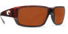 Costa Del Mar Fantail Polarized Sunglasses Tortoise Copper Glass