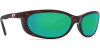 Costa Del Mar Fathom Polarized Sunglasses Tortoise Green Mirror