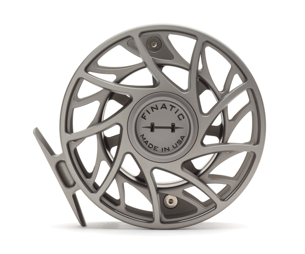 Hatch 11 Plus Finatic Gen 2 Fly Reel Gray Black
