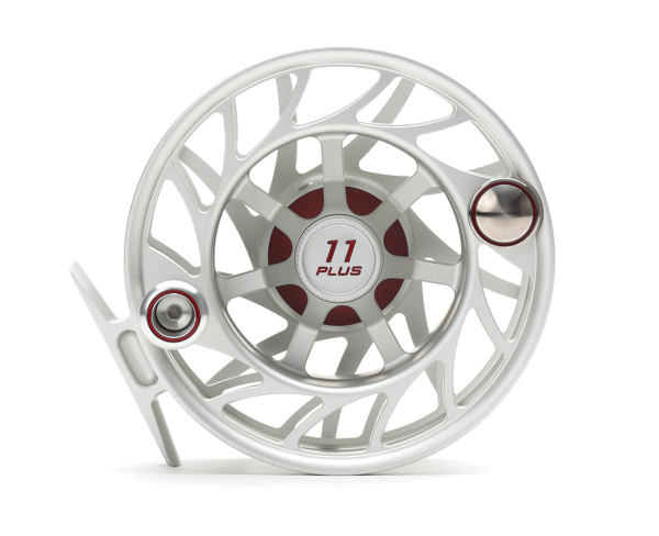 Hatch 11 Plus Finatic Gen 2 Fly Reel Clear Red