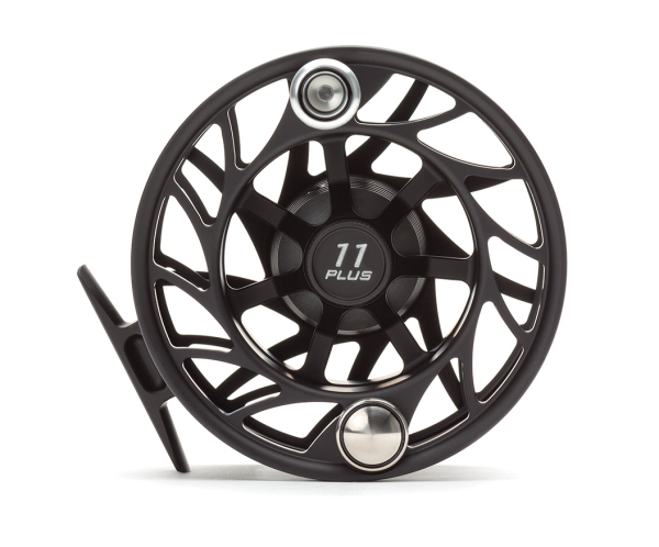 Hatch 11 Plus Finatic Gen 2 Fly Reel Black Silver