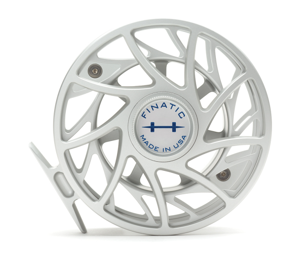 Hatch 12 Plus Finatic Gen 2 Fly Reel Clear Blue