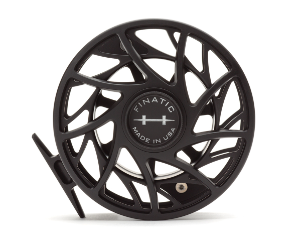 Hatch 12 Plus Finatic Gen 2 Fly Reel Black Silver