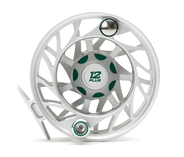 Hatch 12 Plus Finatic Gen 2 Fly Reel Clear Green