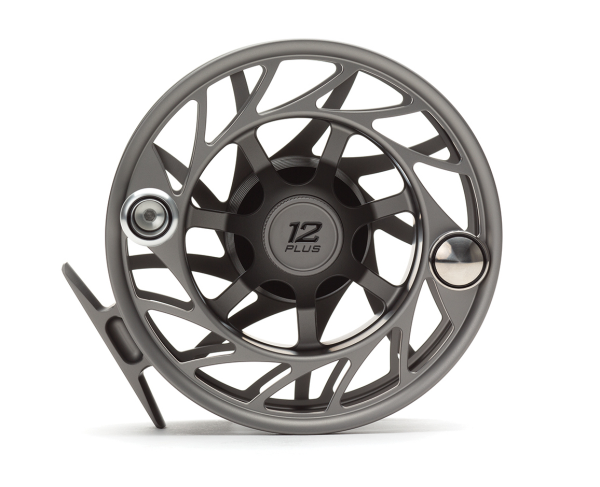 Hatch 12 Plus Finatic Gen 2 Fly Reel Gray Black