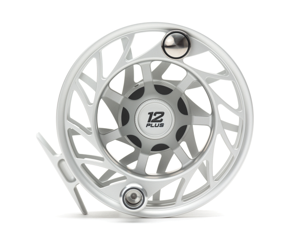 Hatch 12 Plus Finatic Gen 2 Fly Reel Clear Black